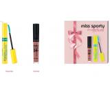 Miss Sports Studio Lash 3D Volumythic Mascara 001 Black 8 ml + Matte to Last 24h Lip Cream liquid lipstick 200 Lively Rose 3.7 ml, cosmetic set