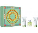 Versace Versense eau de toilette for women 50 ml + body lotion 50 ml + shower gel 50 ml, gift set