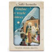 Nekupto Shining lantern Josef Lada Merry Christmas 13.7 x 20 x 5 cm
