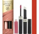 Max Factor Lipfinity Lip Colour rtěnka a lesk 140 Charming 2,3 ml a 1,9 g