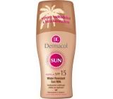 Dermacol Sun Milk SPF15 Waterproof suntan lotion 200 ml spray
