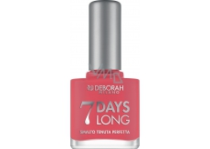 Deborah Milano 7 Days Long Nail Enamel Nail Polish 869 Vintage Pink 11 ml