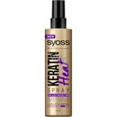 Syoss Keratin Hair Perfection Heat ochranný sprej 200 ml