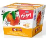 Bella Happy Baby Peach hygienické kapesníky 2 vrstvé 80 kusů