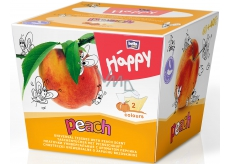 Bella Happy Baby Peach hygienic handkerchiefs 2 layers 80 pieces