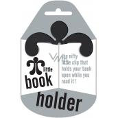 If Little Book Holder Držák na knihu Černý 75 x 2,5 x 75 mm