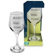 Albi Můj Bar Wine glass Don't even ask 270 ml