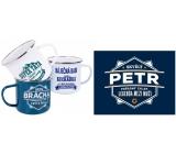 Albi Tin mug named Petr 250 ml