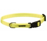 Collar Strap neon yellow, 5 x 30 - 50 cm