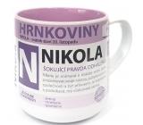 Nekupto Hrnkoviny Mug with the name Nikola 0.4 liter