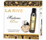 La Rive Madame Love Perfume Water for Women 90 ml + Deodorant Spray 150 ml Gift Set