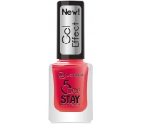 Dermacol 5 Day Stay Gel Effect long-lasting nail polish with gel effect 28 Moulin Rouge 12 ml