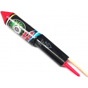 King Power rocket pyrotechnics big CE2 1 piece II. Class of danger sold from 18 years!