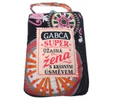 Albi Folding zippered bag for a handbag named Gabča 42 x 41 x 11 cm