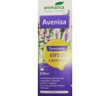Aromatica Avenisa Thyme herbal syrup with plantain promotes normal respiratory tract function, helps to expectorate more efficiently, for children from 10 years of age 210 ml