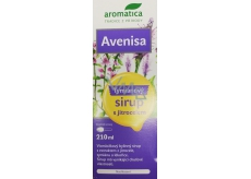 Aromatica Avenisa Thyme herbal syrup with plantain promotes normal respiratory tract function, helps to expectorate more effectively, 210 ml for children over 10 years