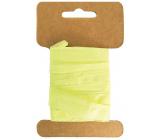 Yellow paper bast width 2 cm, 10 m