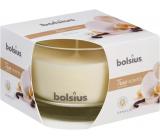 Bolsius True Scents Vanilla - Vanilla scented candle in glass 90 x 63 mm
