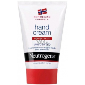 Neutrogena Norwegian unscented concentrated cream for dry and cracked hands 50 ml