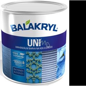 Balakryl Uni Mat 0199 Black universal paint for metal and wood 700 g