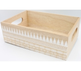 Nekupto Home Decor Wooden box 30 x 20 x 10 cm