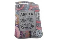 Albi Foldable bag with zipper called Anička 42 x 41 x 11 cm