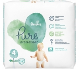 Pampers Pure Protection size 4, from 9-14 kg diaper panties 28 pieces
