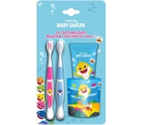 Pinkfong Baby Shark Toothbrush 2pcs + Toothpaste 75 ml + Toothbrush Crucible, Baby Cosmetic Set