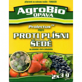AgroBio Protectus Against gray mold on vegetables, vines and strawberry fungicide - plant protection product 2 x 3 g