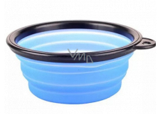 B&F Travel silicone bowl, folding blue 0.38 l