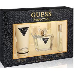 Guess Seductive eau de toilette for women 75 ml + body lotion 200 ml + eau de toilette for women 15 ml, gift set