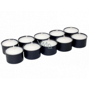 Tomb candle cup WK 20 black 20 g 10 pieces