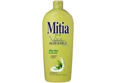 Mitia Aloe & Milk tekuté mýdlo náhradní náplň 1 l