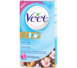 Veet A Vitamin E And Almond Oil Wax Strips For Sensitive Skin 16 + 4 Pieces