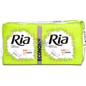 Ria Ultra Silk Normal sanitary napkins 2 x 11 pieces
