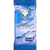 Green Shield Gadget Wipes na obrazovky, laptopy, telefony vlhčené ubrousky 50 ks