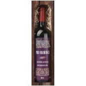 Bohemia Gifts & Cosmetics Merlot Pro Mommy Red Gift Wine 750 ml