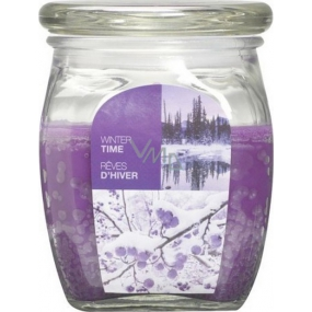 Bolsius Aromatic Winter Time - scented candle in glass 92 x 120 mm 830 g, burning time 100 hours