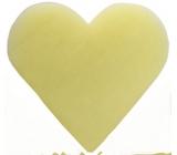 English Soap Mandle Přírodní parfémované mýdlo Srdíčko v organze 20g