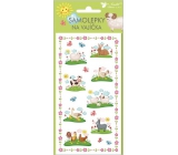 Eagle Easter New Gel Stickers with Animals No.2 19 x 9 cm