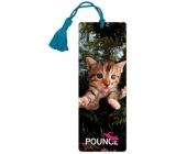 3D bookmark - Kitten 5,7 x 15,3 cm