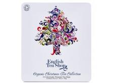 English Tea Shop Bio 72 Infusion Sachets Christmas tree gift tea box
