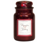 Village Candle Rose and red fruit - Rosette Berry scented candle in glass 2 wicks 602 g