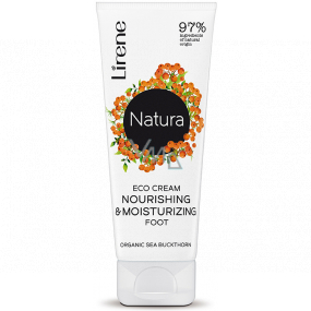 Lirene Natura Sea buckthorn regenerating foot cream 75 ml