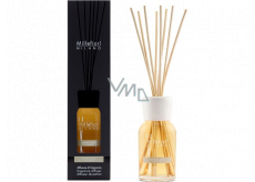 Millefiori Milano Natural Mineral Gold - Mineral Gold Diffuser 250 ml + 8 stalks 30 cm long for medium-sized spaces lasts at least 3 months