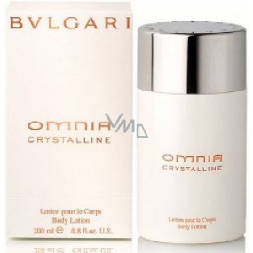 Bvlgari Omnia Crystalline 200 ml body lotion for women