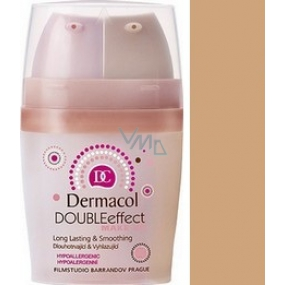 Dermacol Double Effect Makeup 02 2 x 15 ml