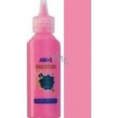 Amos Glass Deco Glow In The Dark Barva na sklo 1502 růžová 22 ml