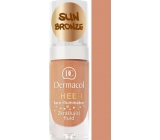 Dermacol Sheer Face Illuminator zkrášlující fluid Sun Bronze 15 ml