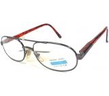 Berkeley Čtecí dioptrické brýle +1,0 šedé kov 1 kus M119